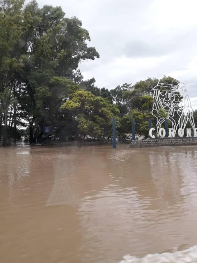 Inundaciones Coronel Dorrego
