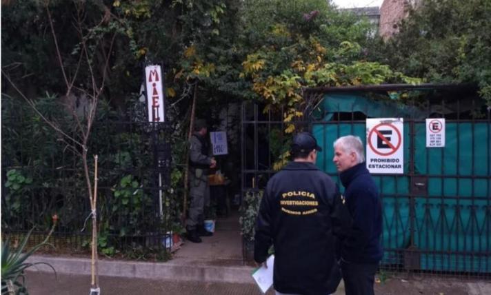 Tellarini - Vivienda allanada en Villa Mitre